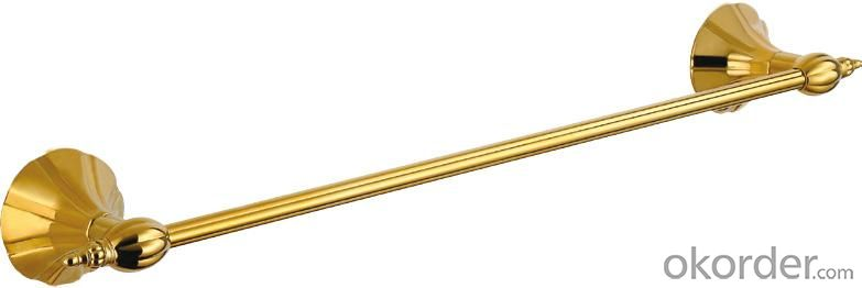 Hardware House Bathroom Accessories Rome Series Titanium Gold Towel Bar