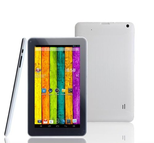 9 Inch Allwinner A23 Dual Core Tablet PC Android 4.2 8GB 1.5GHz Wifi HDMI Capacitive Screen Dual Camera White