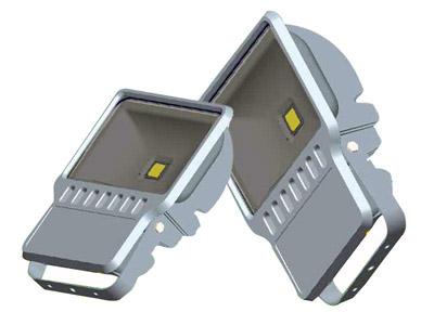 LED RGB Flood Light COB IR Inner Controller  High Brightness IP 65 120W