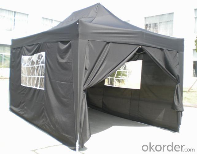 Hot Selling Outdoor Market Umbrella Full Iron Folding Gray Tent