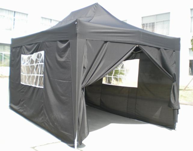 Hot Selling Outdoor Market Umbrella Full Iron Folding Gray Tent