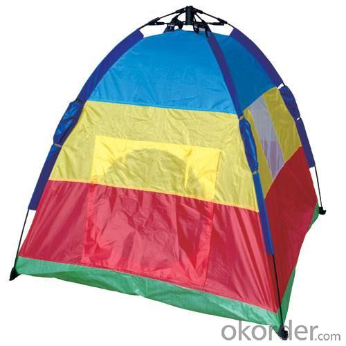 High Quality Outdoor Product 190T Polyester Colorful Camping Tent
