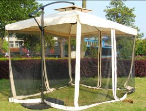 Hot Selling Outdoor Market Umbrella Umbrella With Mosquito Net Polyester