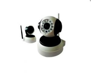 H.264 720P CCTV IR 1.0Mega HD P2P Wireless IP Camera XXC5210-T White