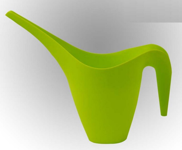High Quality Outdoor Product PP Green Simple Watering Can