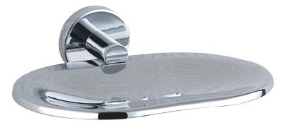 Luxury Bath Accessories Modern Chrome-plated Soap Basket