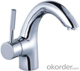 Contemporary Bathroom Faucet Centerset Basin Mixer