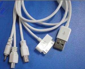 Multi-functional charge data cable mini USB. NOKIA,MICRO,Ipod/Iphone/Ipad.