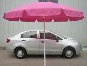 Hot Selling Outdoor Market Umbrella Pink Offset Umbrella Polyester