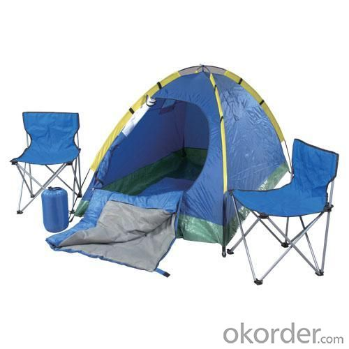 High Quality Outdoor Product 170T Polyester Waterproof Adult Camping Set