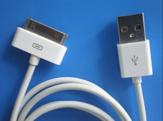 Apple Square USB Data Cable iPhone 4  iPhone3G/4GS iPod touch iPod classic iPod nano