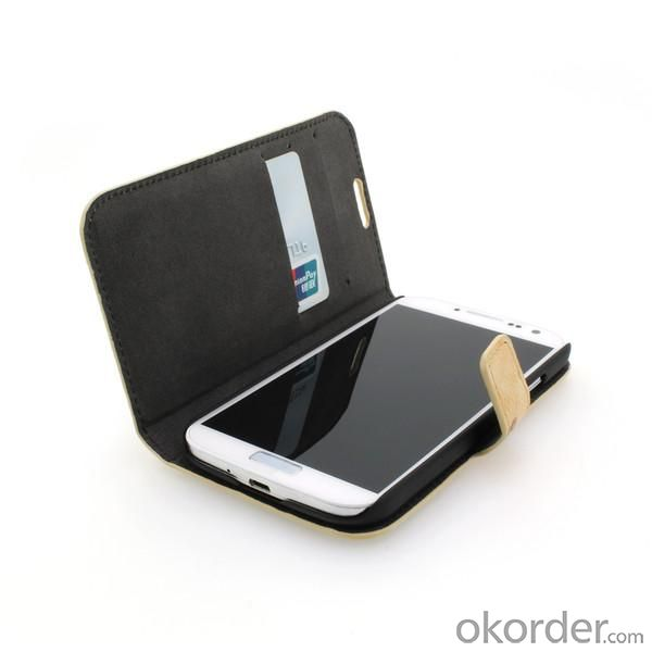 Colorful Wallet Pouch Luxury PU Leather Stand Book Style Case Cover for Samsung Galaxy S4 (I9500)