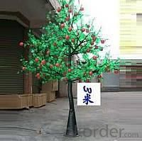 LED Fruit Tree String Christmas Festival Light Green Leaves+ Apple 162W CM-SLF-2688La
