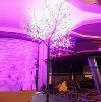 LED Tree Light Peach Flower String Christmas Festival Decorative Light Pink/Purple/RGB 260W CM-SLP-4320L3
