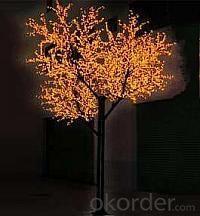 LED Tree Light Cherry String Christmas Festival Light Pink/Purple/RGB 415W CM-SL-6912L3