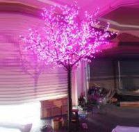 LED Tree Light Peach Flower String Christmas Festival Decorative Light Pink/Purple/RGB 116W CM-SLP-1920L3