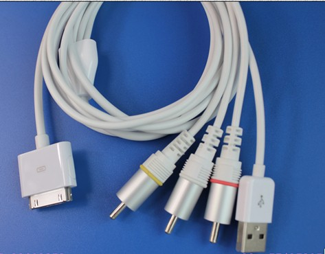 Apple AV Cable 2.2 Ver Crack Chip iPhone3G iPod touch iPod classic iPod nano