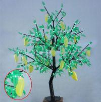 LED Fruit Tree String Christmas Festival Light Green Leaves+ Mango 39W CM-SLF-648Lm