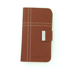 Luxury PU Leather Stand Cover for Samsung Galaxy S4 (I9500) Wallet Pouch Cover Brown