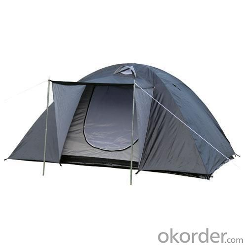 High Quality Outdoor Product 190T Polyester Gray Camping Tent