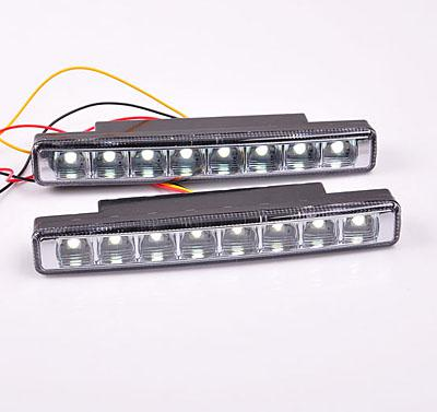 Auto Lighting System LED Car Light DC 12V with Blue CM-DAY-047