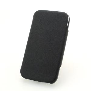 360 Rotary Luxury PU Leather Stand Case Cover for Samsung Galaxy S4 (I9500) Black