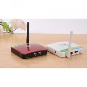 GV-11D Android TV Box 4.2 Dual Core 1GB 4GB HDMI WIFI 2.0MP Camera Microphone White