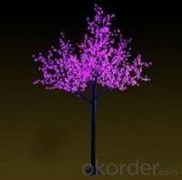LED Tree Light Peach Flower String Christmas Festival Decorative Light Blue/Green/White 139W CM-SLP-2304L2