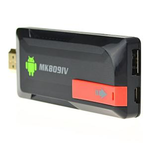 Quad Core MK809IV RK3188 Android 4.2 Mini PC Bluetooth Full HDMI 1080p 2G 8G TV BOX Dongle Stick