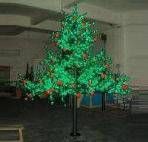LED Fruit Tree String Christmas Festival Light Green Leaves+ Apple 157W CM-SLF-2604La