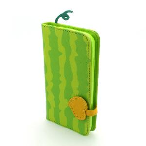 Green Phone Case Wallet Pouch Luxury PU Leather Stand Book Style Case Cover for Samsung Galaxy S4 (I9500)
