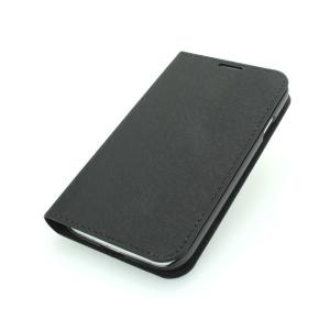 High Quality PU Leather Stand Case for Samsung Galaxy S4 (I9500) Wallet Pouch Luxury Cover Black