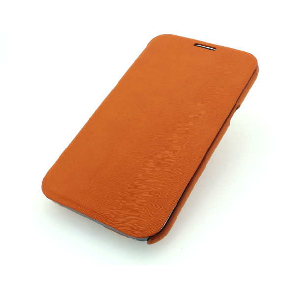 Wallet Pouch Luxury PU Leather Case Cover for Samsung Galaxy Note 2/3 Orange