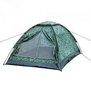 High Quality Outdoor Product 170T Polyester Army Green Camping Tent L