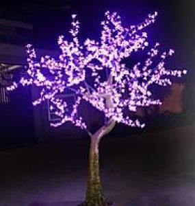 LED Artifical Cherry Tree Lights Flower String Christmas Festival Decorative Blue/Green/White 93W CM-SLFZ-1536L2