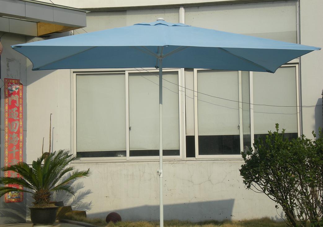 Hot Selling Outdoor Market Umbrella Blue Offset Umbrella Polyester