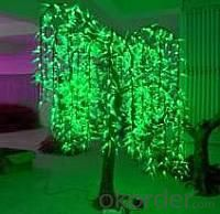 LED Artifical Cherry Tree Lights Flower String Christmas Festival Decorative Blue/Green/White 87W CM-SLFZ-1440L2