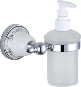 Luxury Bath Accessories Classical With Ceramic Soap Dispenser