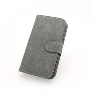 2014 New Wallet Pouch PU Leather Stand Case Cover for Samsung Galaxy S4 (I9500) Gray