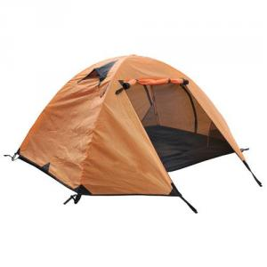 High Quality Outdoor Product 210T Polyester Orange Camping Tent