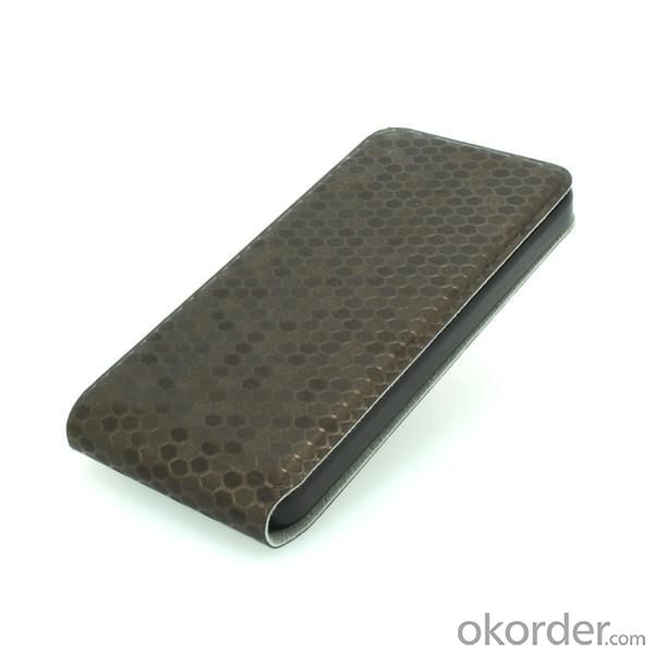 For iPhone 5 5s 5g 5gs Luxury Crocodile Snake Skin PU Leather Horizontal Flip Case Auto Sleep Wake Smart Cover Dark Grey