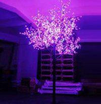 LED Tree Light Peach Flower String Christmas Festival Decorative Light Blue/Green/White 173W CM-SLP-2880L2