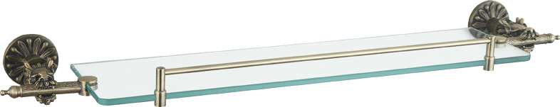 Luxury Bath Accessories Classical Dragon  Shape Glass Shelf