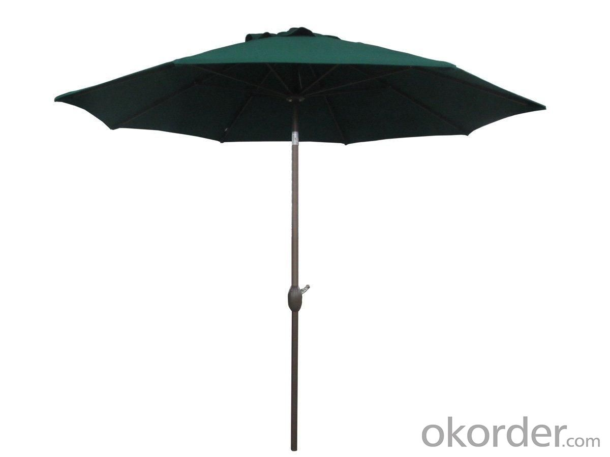 Hot Selling Outdoor Market Umbrella Aluminum And Iron Offset Umbrella Polyester