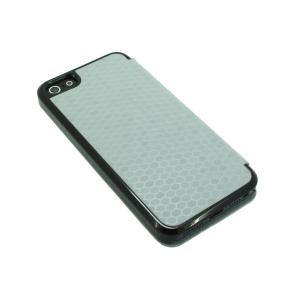 China Factory For iPhone 5 5s 5g 5gs Fashion Luxury Snake Skin Leather Folio Flip Case Smart Cover Stand Case Grey Multi Colors