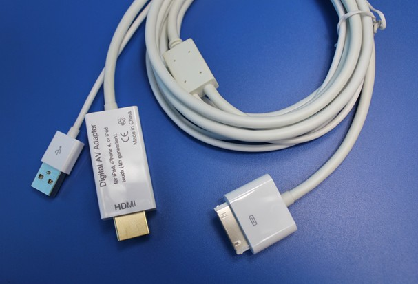 HDMI cable ORIGINAL IC for two data cable IPAD2ipad1iphone general