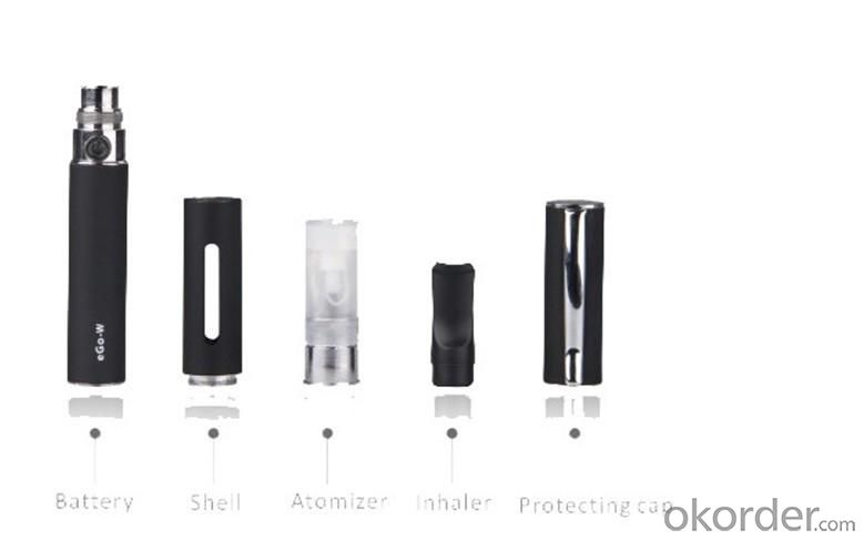 Ego W Starter Kit Electronic Cigarette 2PCS Gift Package Set