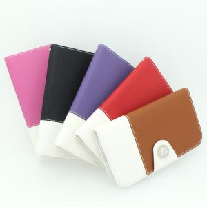 For Samsung Galaxy S4 I9500 Multi Color PU Leather Horizontal Flip Cover Case Black With ID Credit Card Slot Holder