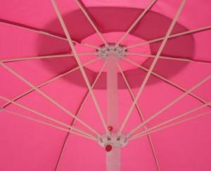 Hot Selling Outdoor Market Umbrella Pink Offset Umbrella Polyester