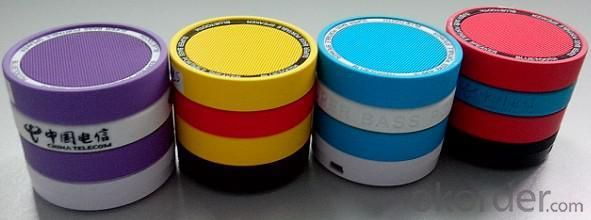 Bluetooth Speaker ABS Steel Printing 3W iHB08T